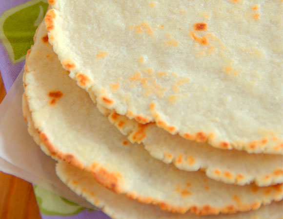 Quinoa tortillas mexicanas