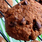 Cookie de quinoa con chocolate