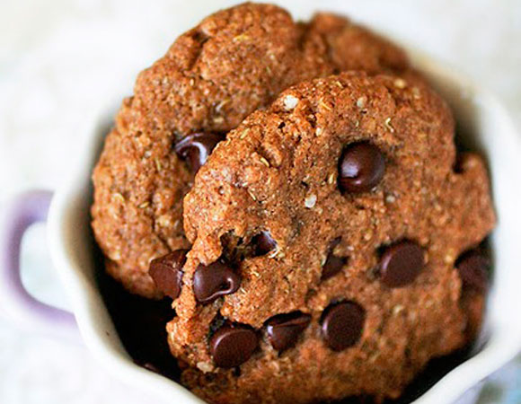 Cookies de quinoa y chocolate